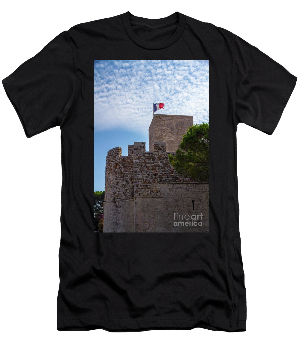 Cannes Men's T-Shirt (Athletic Fit) featuring the photograph Cannes, French Riviera by Ohad Shahar