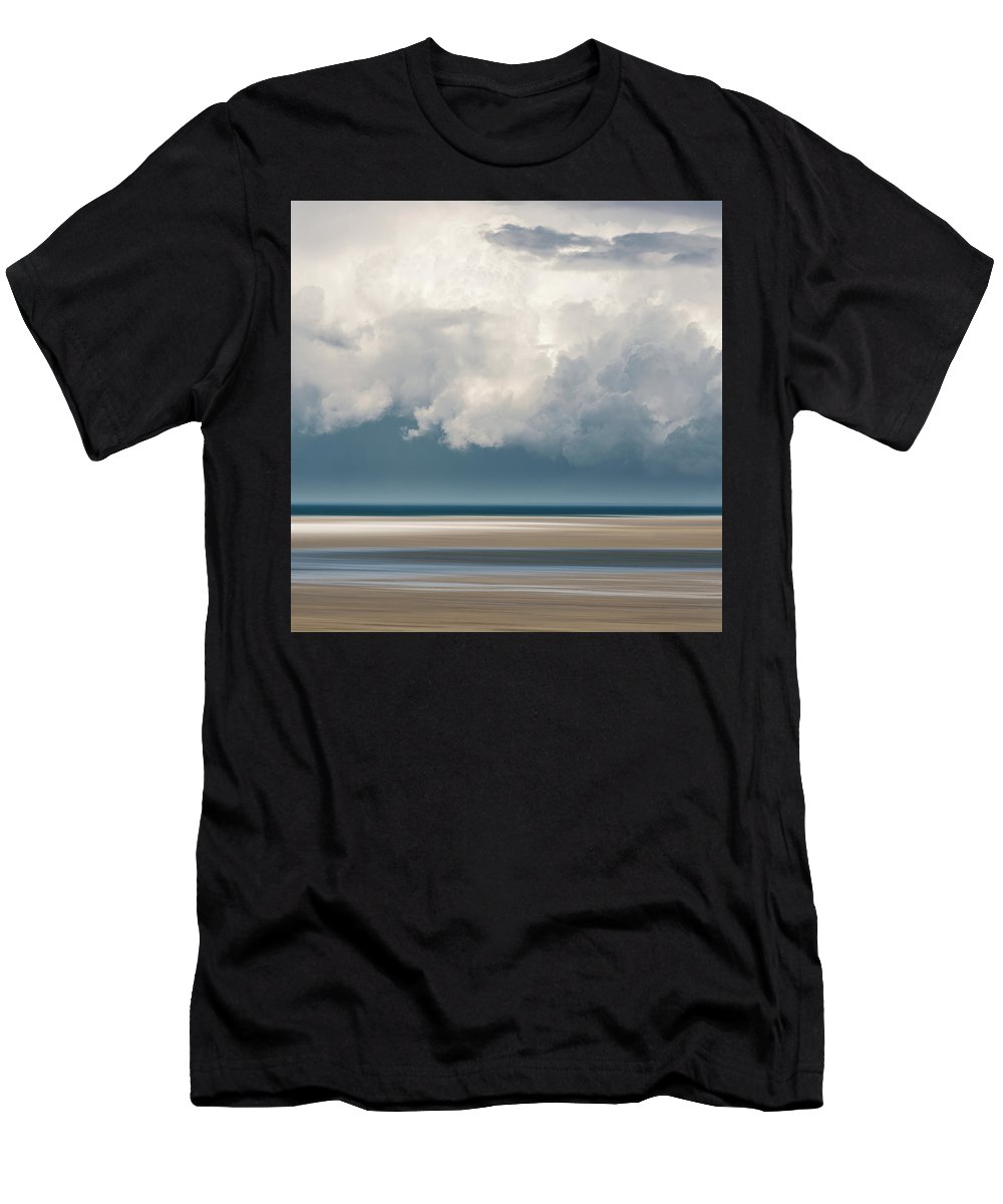 Usa Men's T-Shirt (Athletic Fit) featuring the photograph Chapin Beach 3 by John Whitmarsh