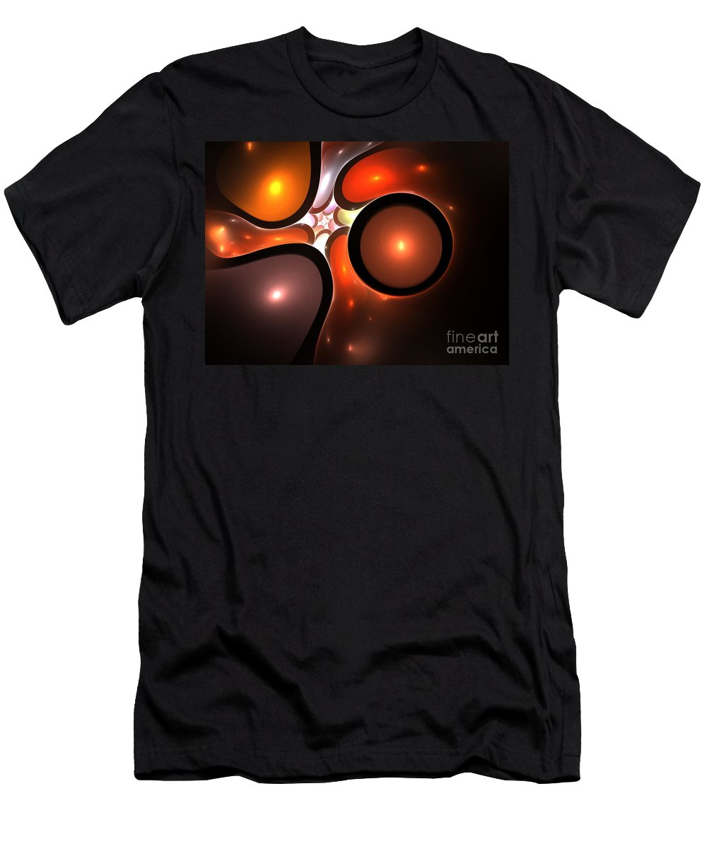 Colorful Men's T-Shirt (Athletic Fit) featuring the painting Colorful by Steve K