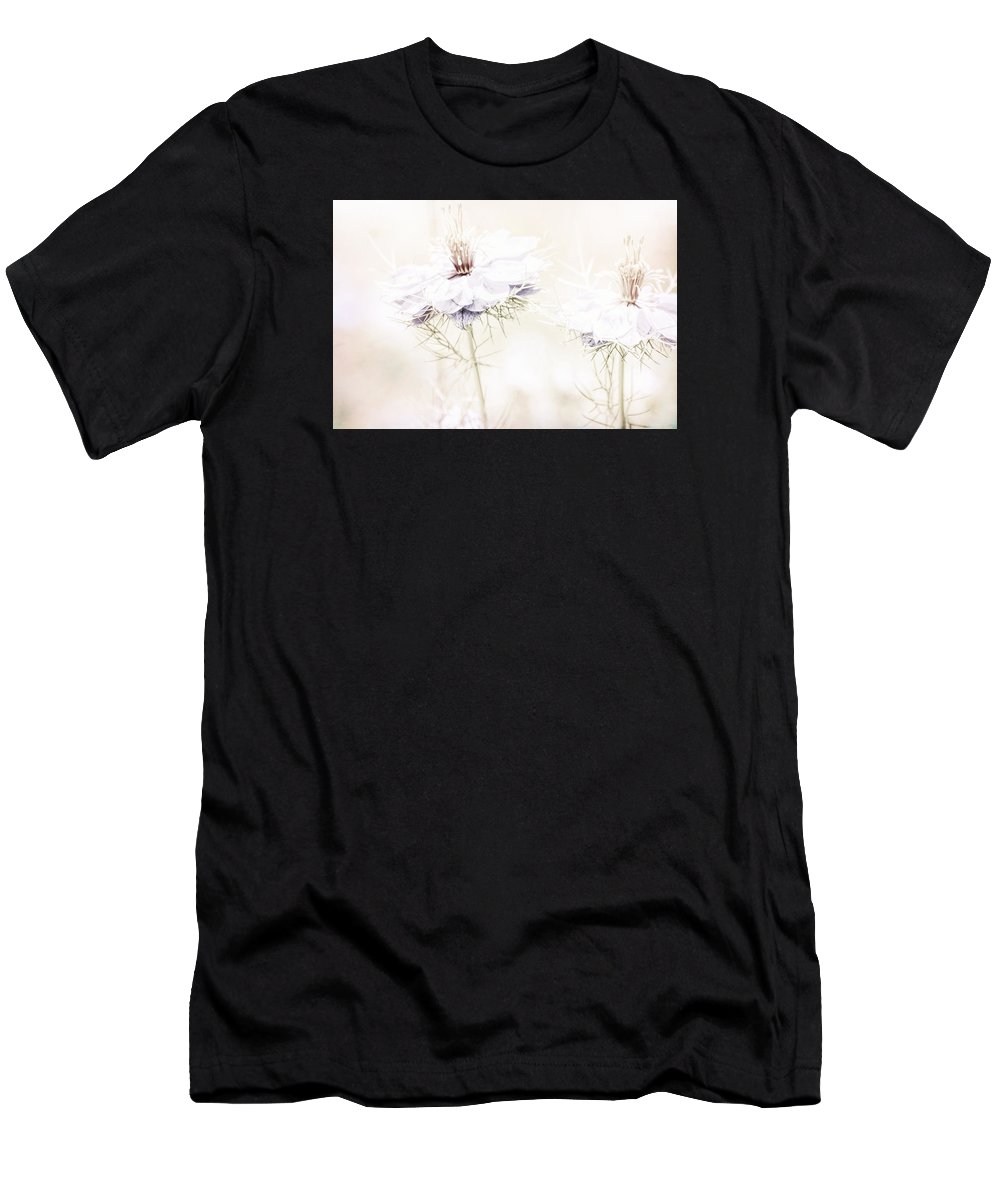Dreamy Men's T-Shirt (Athletic Fit) featuring the photograph Dreamy Garden by Bonnie Bruno