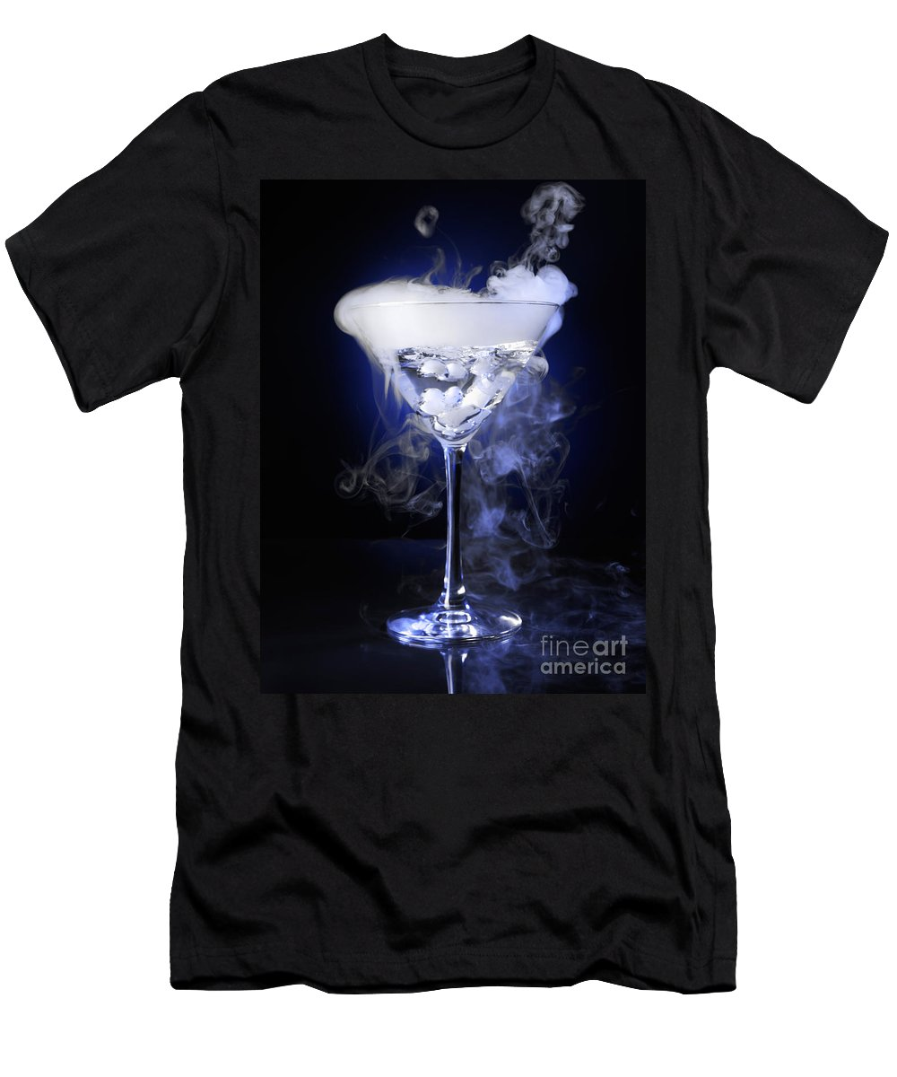 Drink Men's T-Shirt (Athletic Fit) featuring the photograph Exotic Drink by Oleksiy Maksymenko