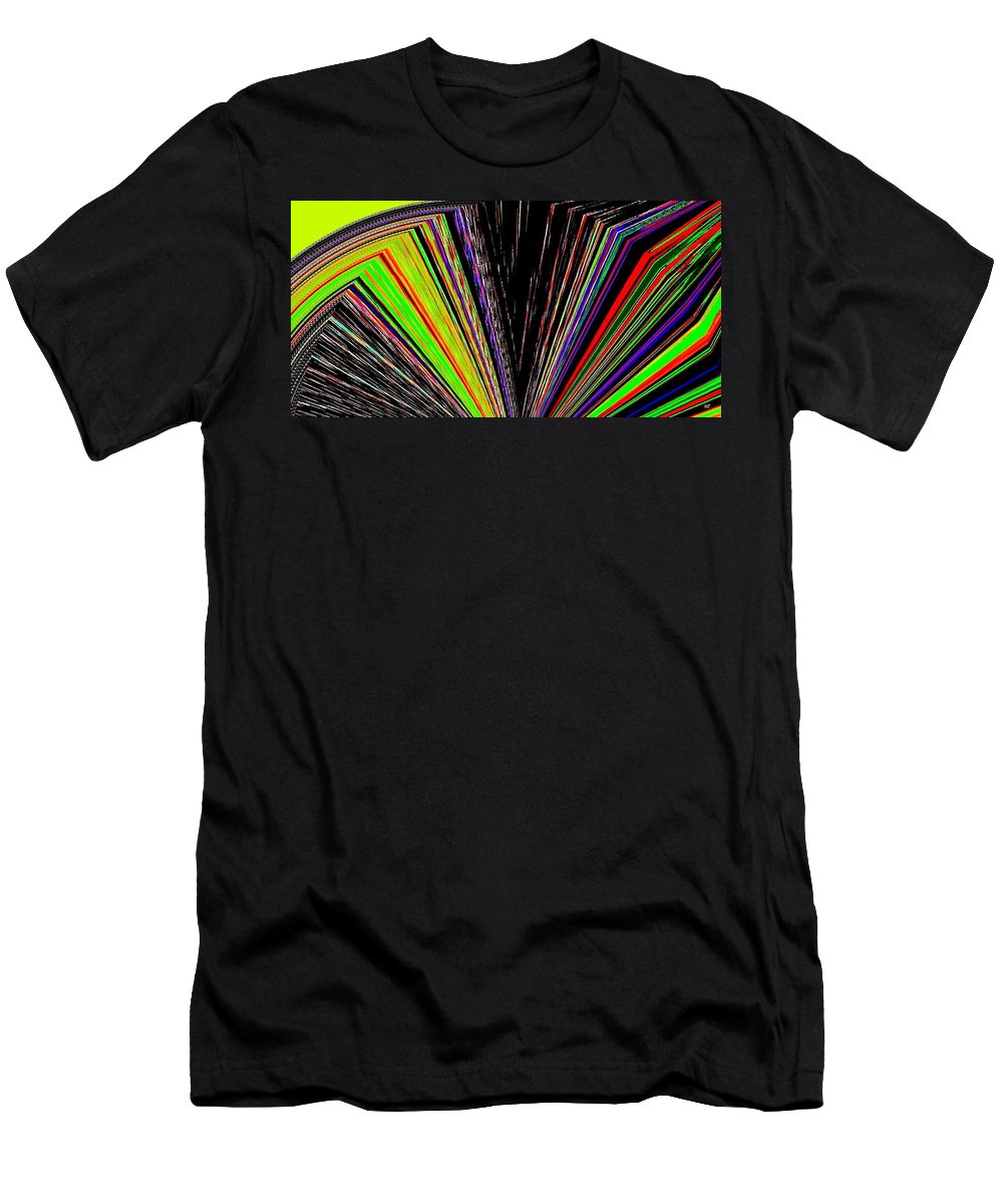 Fandango Men's T-Shirt (Athletic Fit) featuring the digital art Fandango by Will Borden