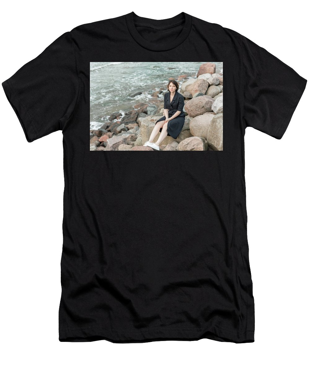 Beautiful Men's T-Shirt (Athletic Fit) featuring the photograph Fashion # 48 by Igor Smirnoff