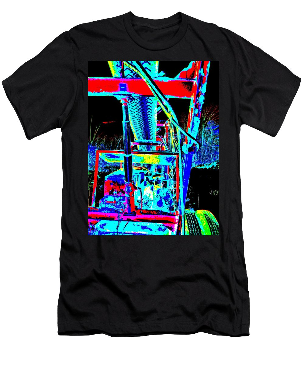 Abstract Men's T-Shirt (Athletic Fit) featuring the photograph Feb 2016 35 by George Ramos