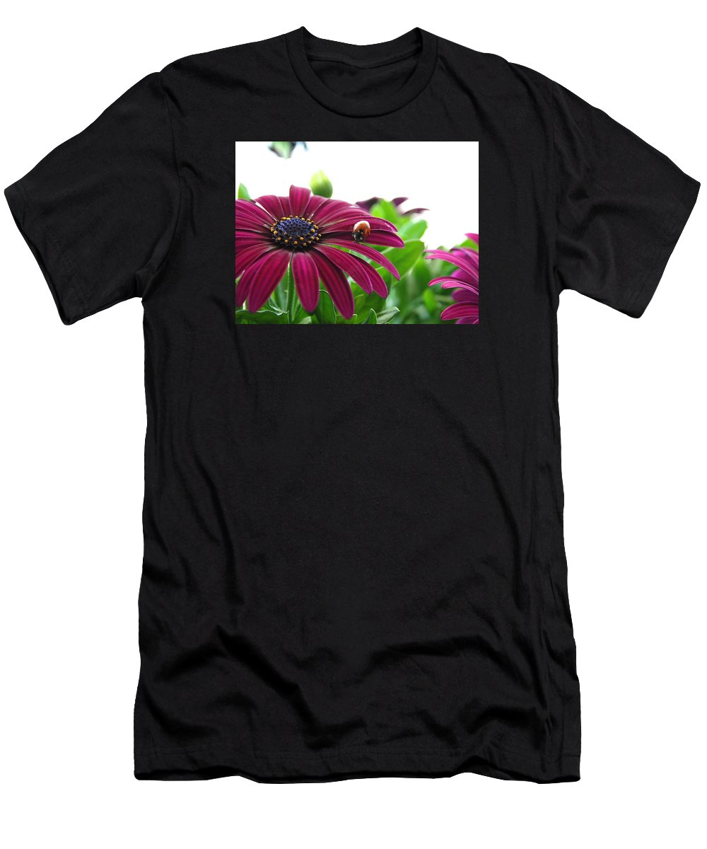 Flower Men's T-Shirt (Athletic Fit) featuring the photograph Flower by Christine Russell