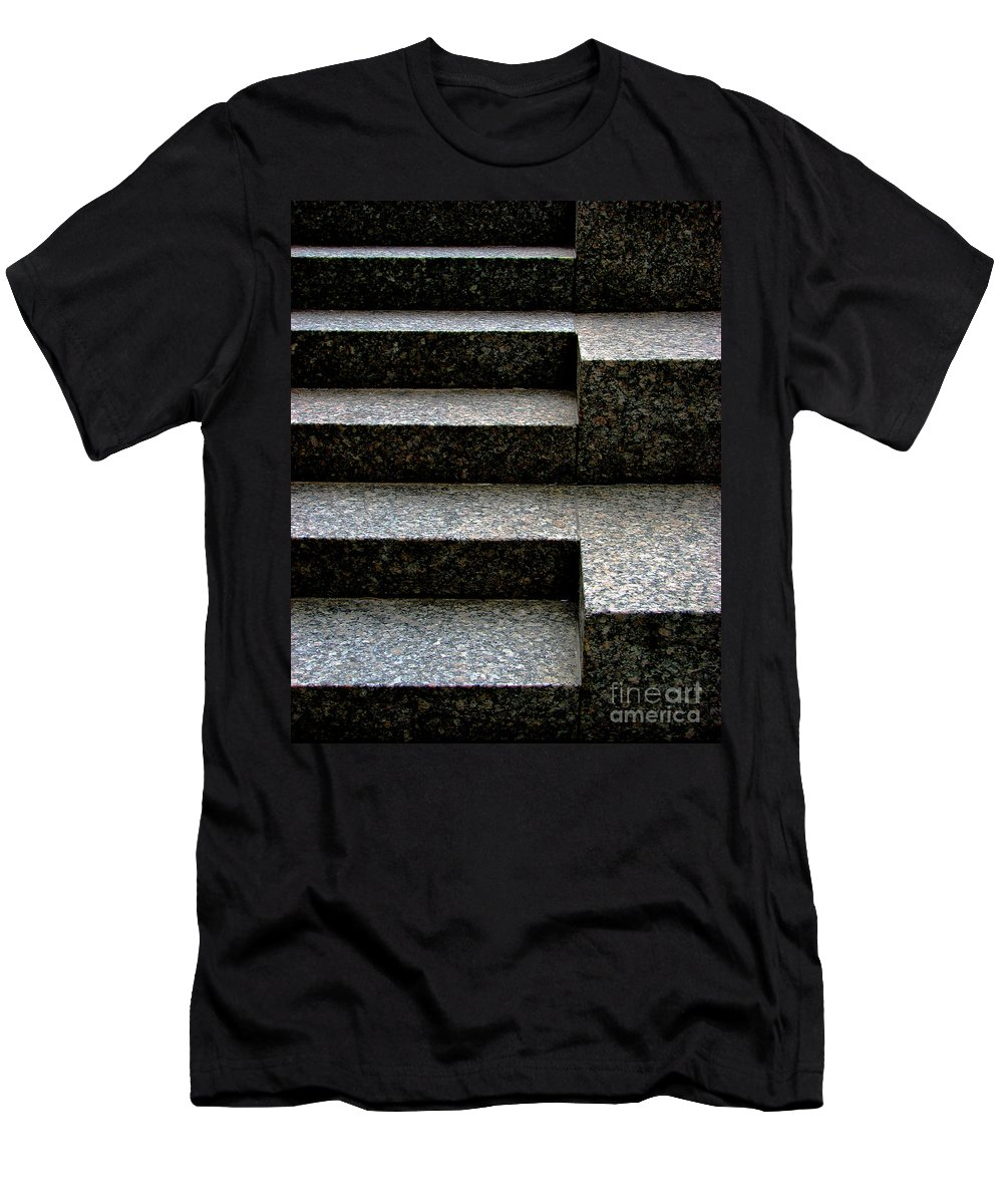 Architectural Men's T-Shirt (Athletic Fit) featuring the photograph Gradation by Dana DiPasquale