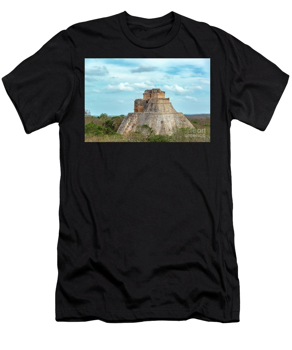 Mexico Men's T-Shirt (Athletic Fit) featuring the photograph House Of The Magician by Jess Kraft