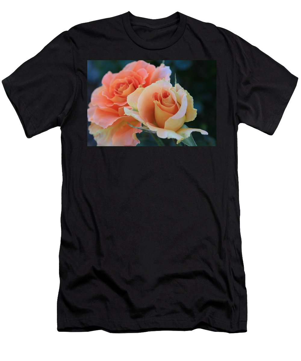 Rose Men's T-Shirt (Athletic Fit) featuring the photograph Jacob by Marna Edwards Flavell