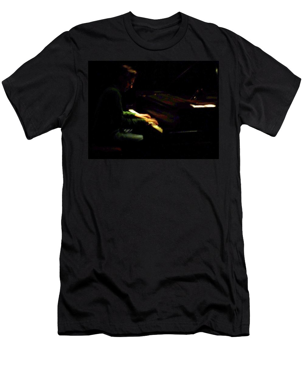 Jazz Men's T-Shirt (Athletic Fit) featuring the photograph Jazz Estate 7 by Anita Burgermeister