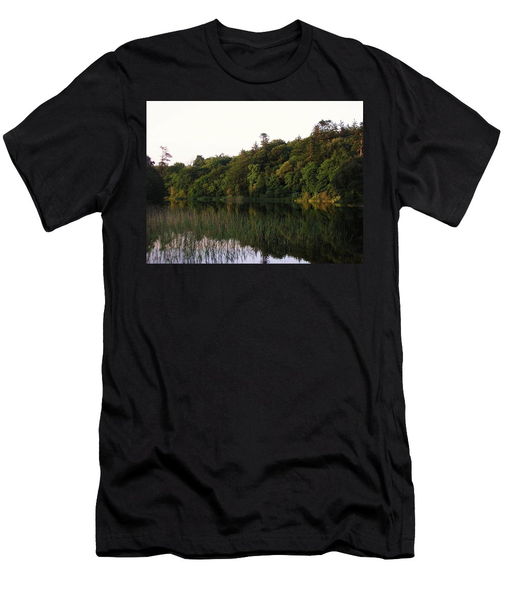 Landscape Men's T-Shirt (Athletic Fit) featuring the photograph Lough Gill Co Sligo Ireland by Louise Macarthur Art and Photography