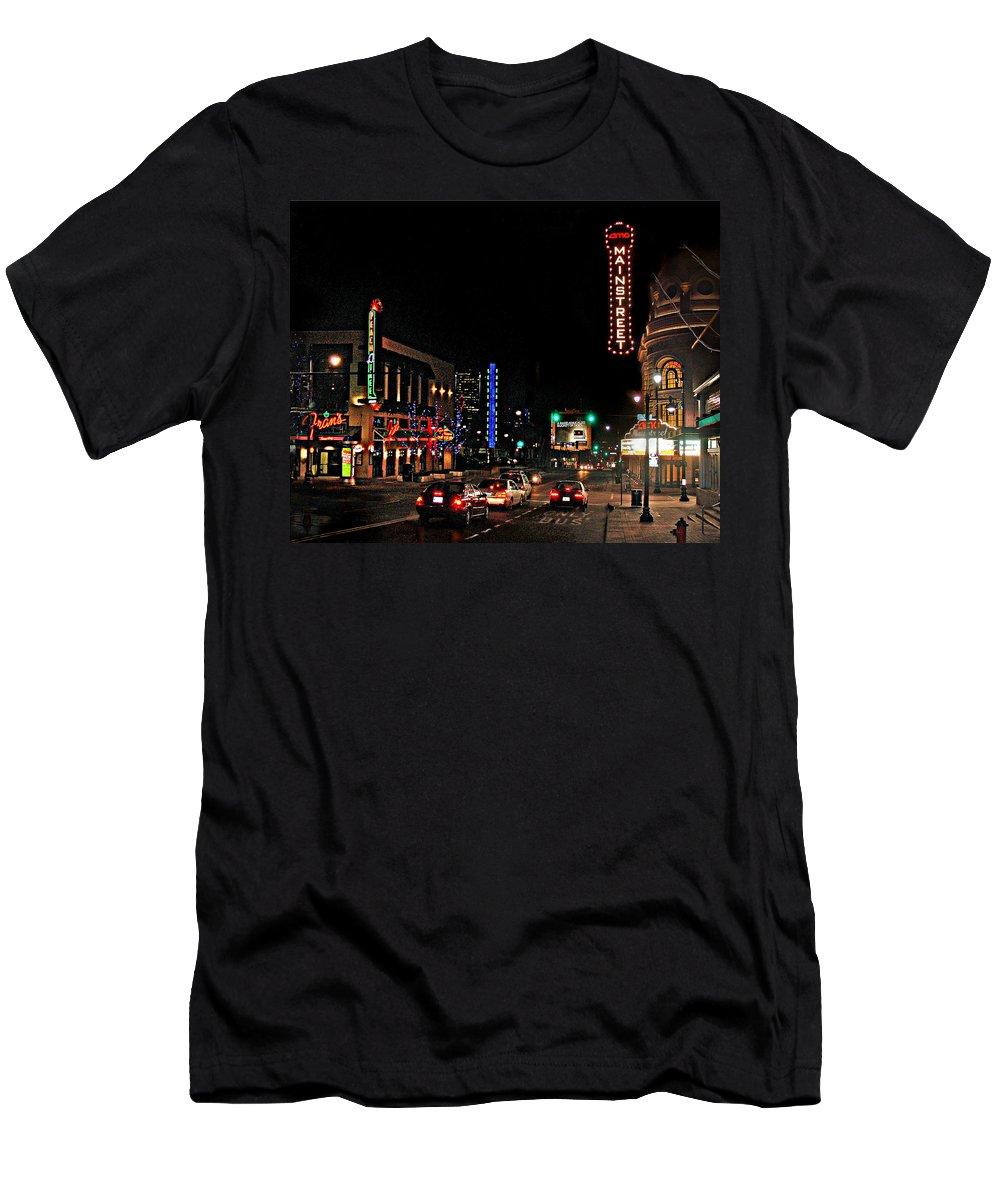 Landscape T-Shirt featuring the photograph Main Street by Steve Karol
