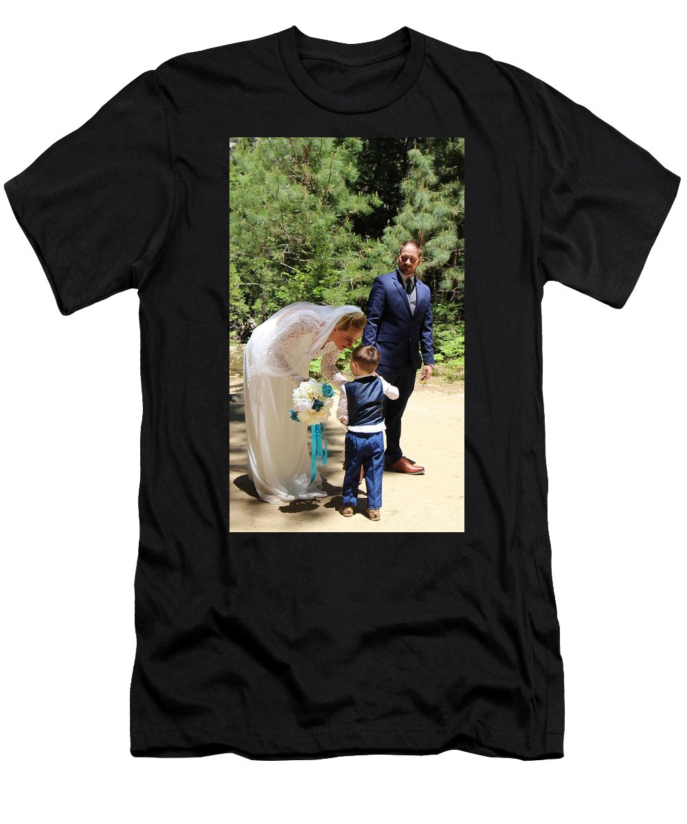 T-Shirt featuring the painting Married by Travis Day