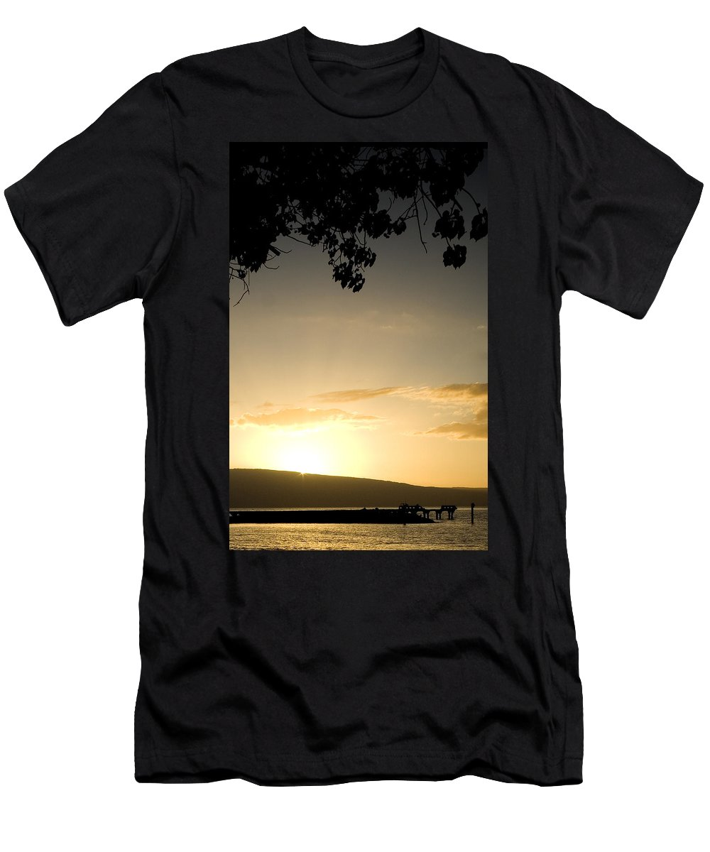 Maui Gold Men's T-Shirt (Athletic Fit) featuring the photograph Maui Gold by Chris Brannen