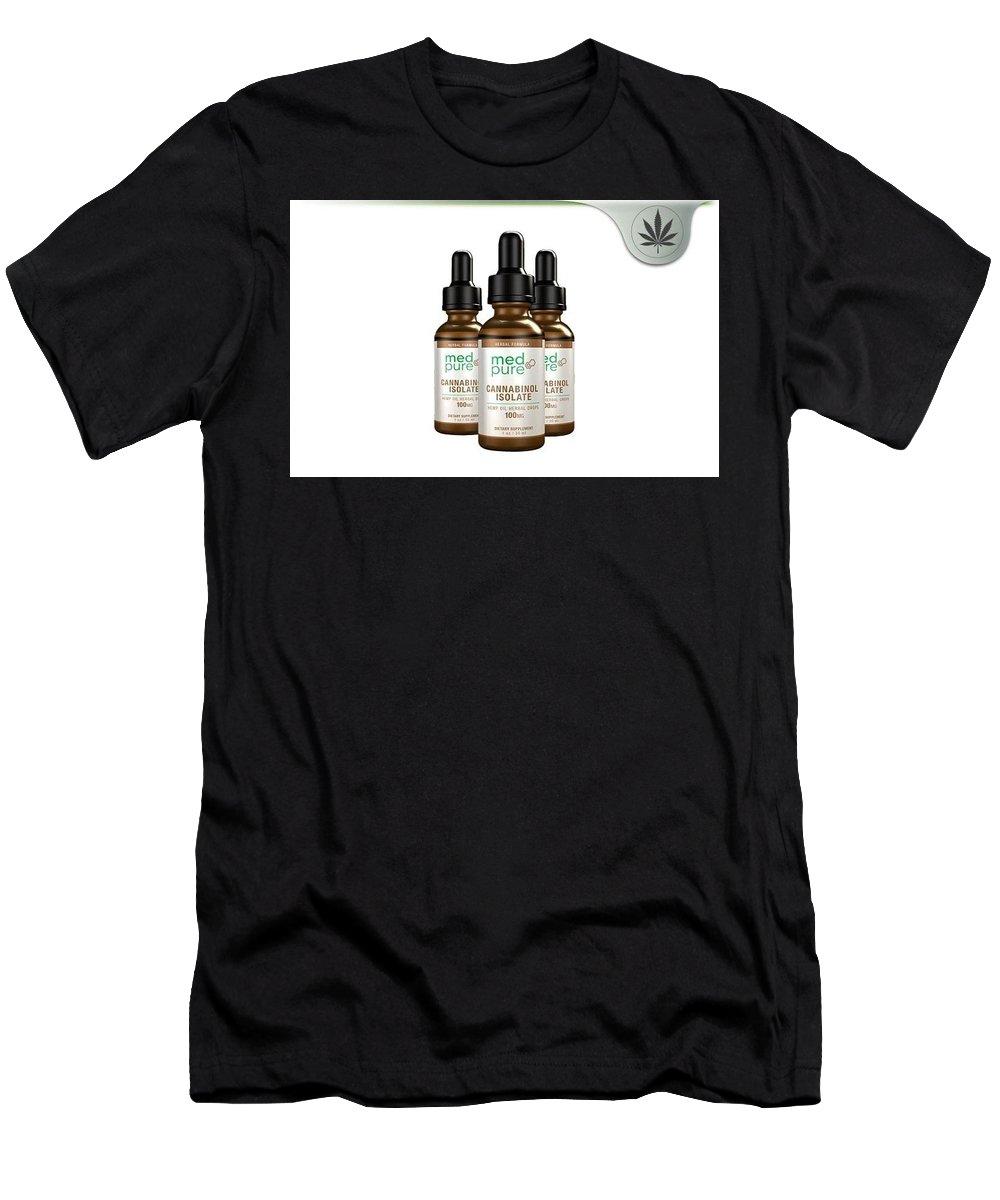 Med Pure Cbd Oil Men's T-Shirt (Athletic Fit) featuring the jewelry Med Pure Cbd Oil by Med Pure CBD Oil