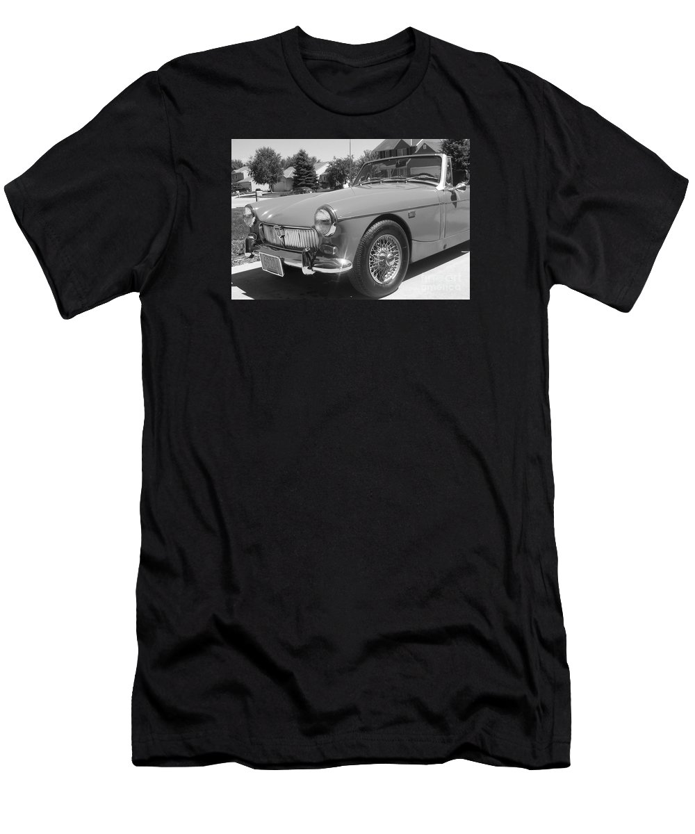 Mg Men's T-Shirt (Athletic Fit) featuring the photograph Mg Midget by Neil Zimmerman