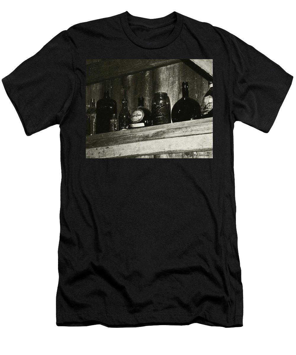 Antiques Men's T-Shirt (Athletic Fit) featuring the photograph Old And Forgotten by RC DeWinter