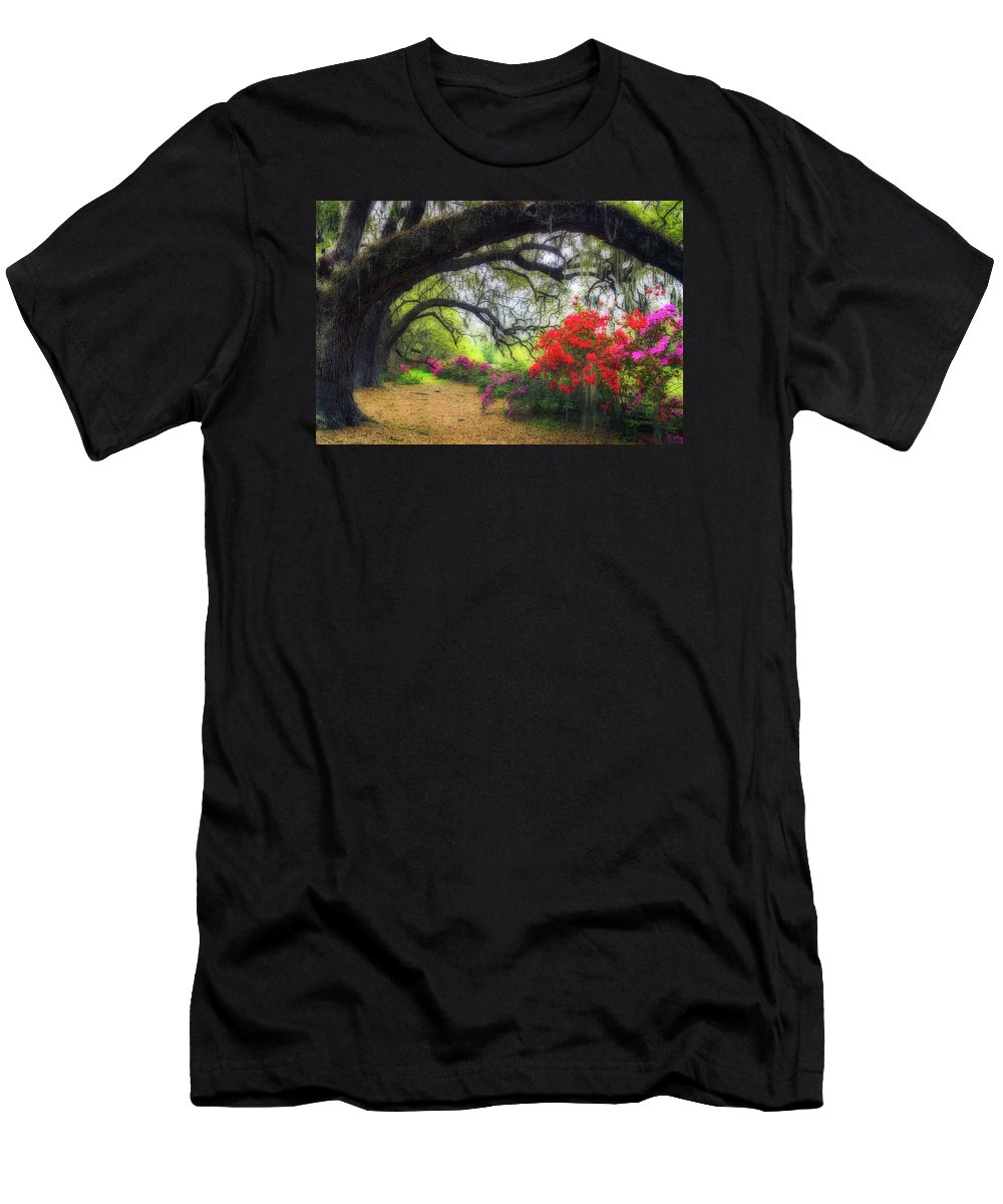 South Carolina Men's T-Shirt (Athletic Fit) featuring the photograph Once Upon A Time by Xavier Ascanio