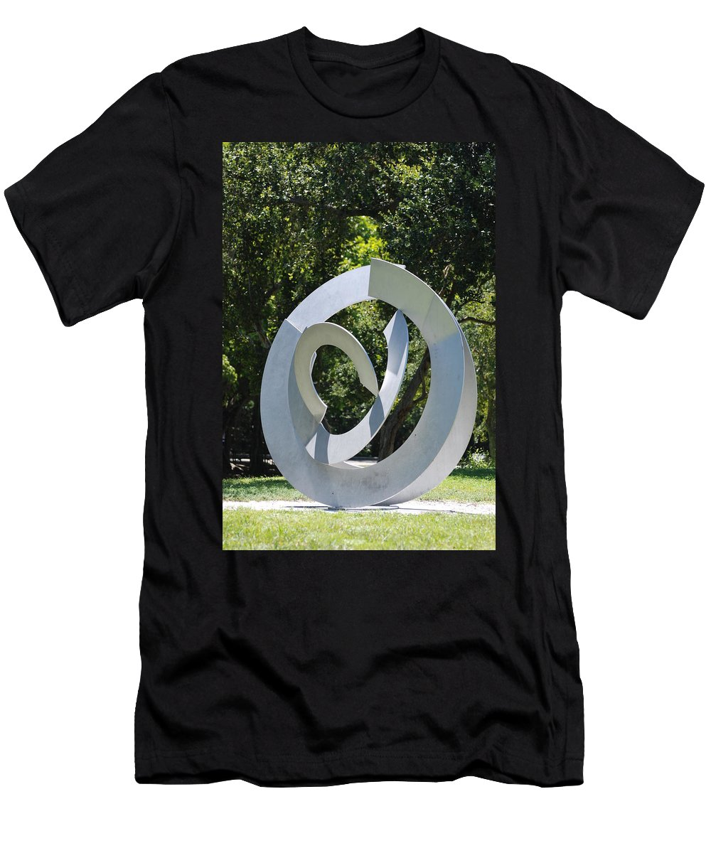 Landscape Men's T-Shirt (Athletic Fit) featuring the photograph Orbs by Rob Hans