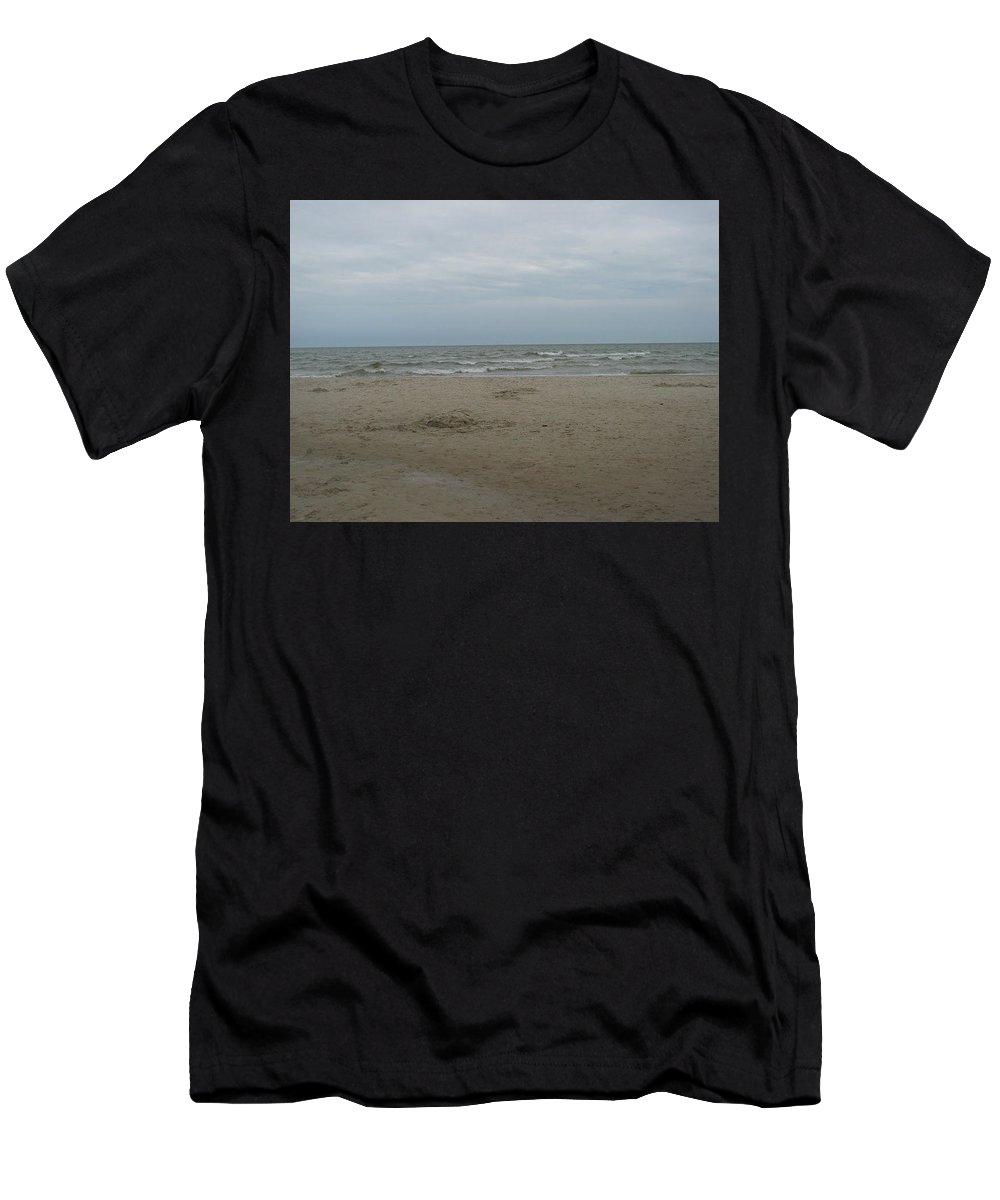 #poland #landscape #sea Men's T-Shirt (Athletic Fit) featuring the photograph Poland by Nowa Szata Sylwia Krzemianowska