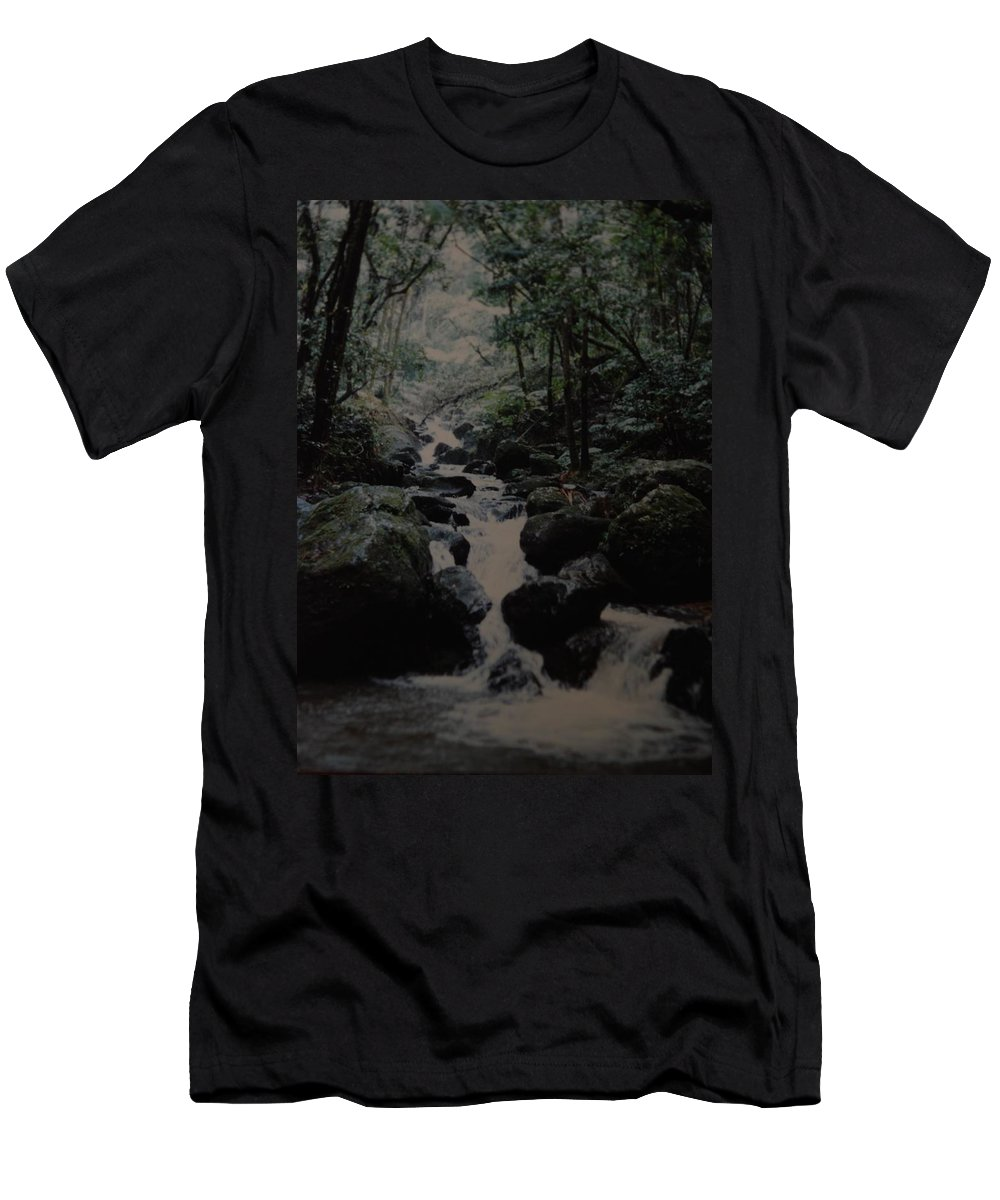 Water Men's T-Shirt (Athletic Fit) featuring the photograph Puerto Rico Water by Rob Hans