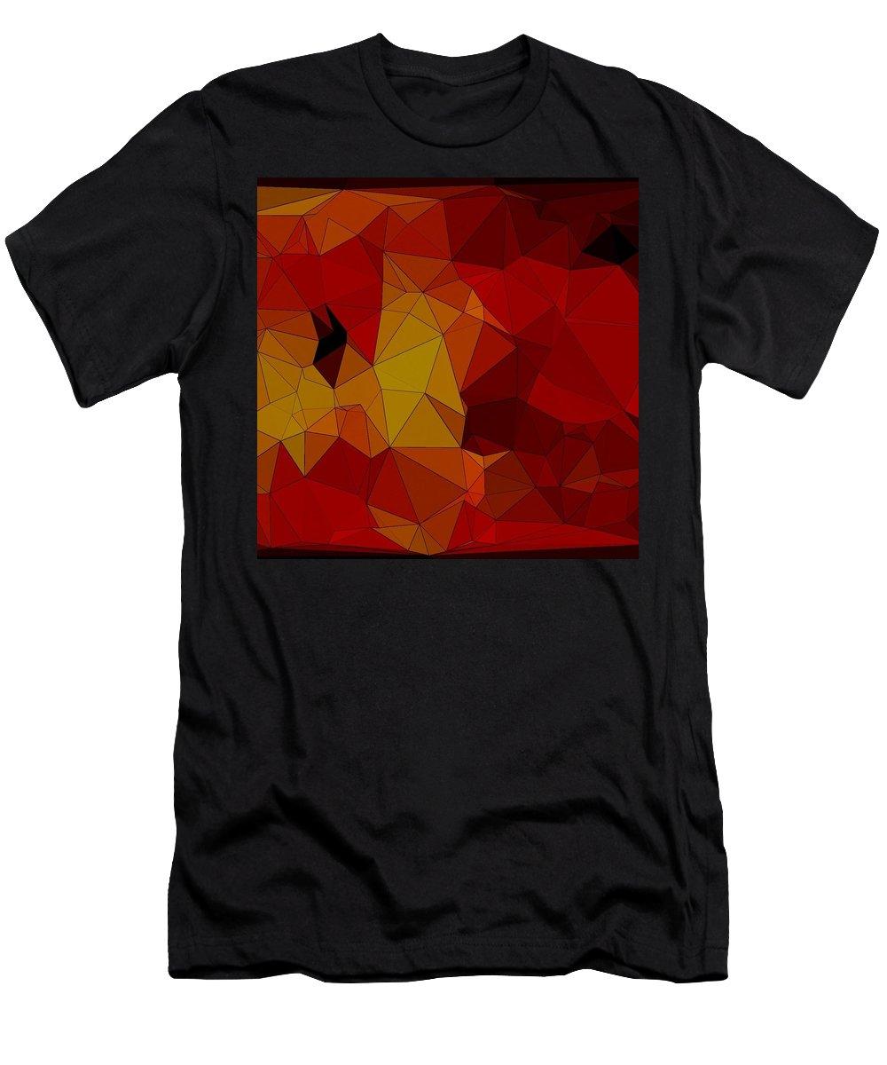 Digital Art Men's T-Shirt (Athletic Fit) featuring the digital art Rad 2 by Juvenal Garza
