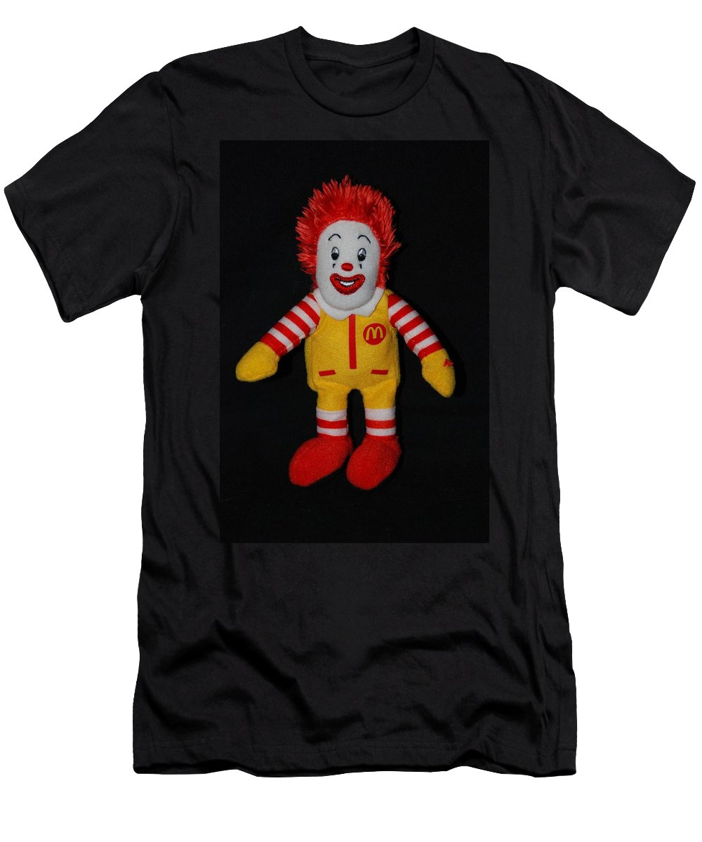 Ronald Mcdonald Men's T-Shirt (Athletic Fit) featuring the photograph Ronald Mcdonald by Rob Hans