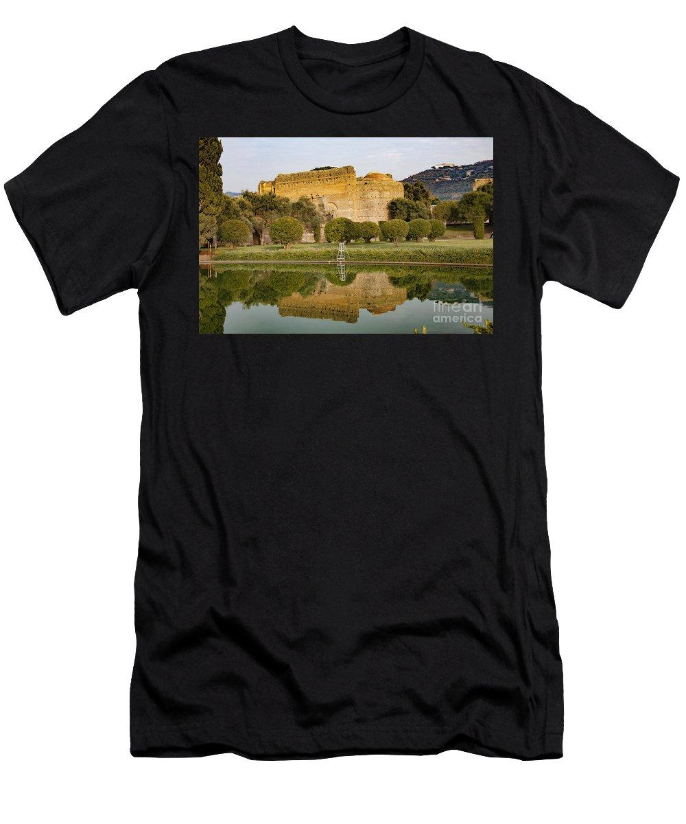 Adriana Men's T-Shirt (Athletic Fit) featuring the photograph Tivoli, Lazio, Italy by Svetlana Batalina