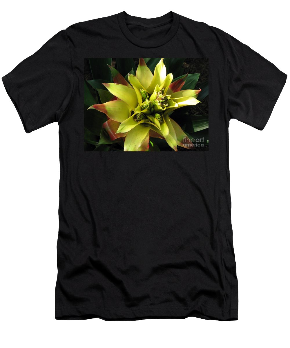 Tropical Men's T-Shirt (Athletic Fit) featuring the photograph Tropical by Amanda Barcon