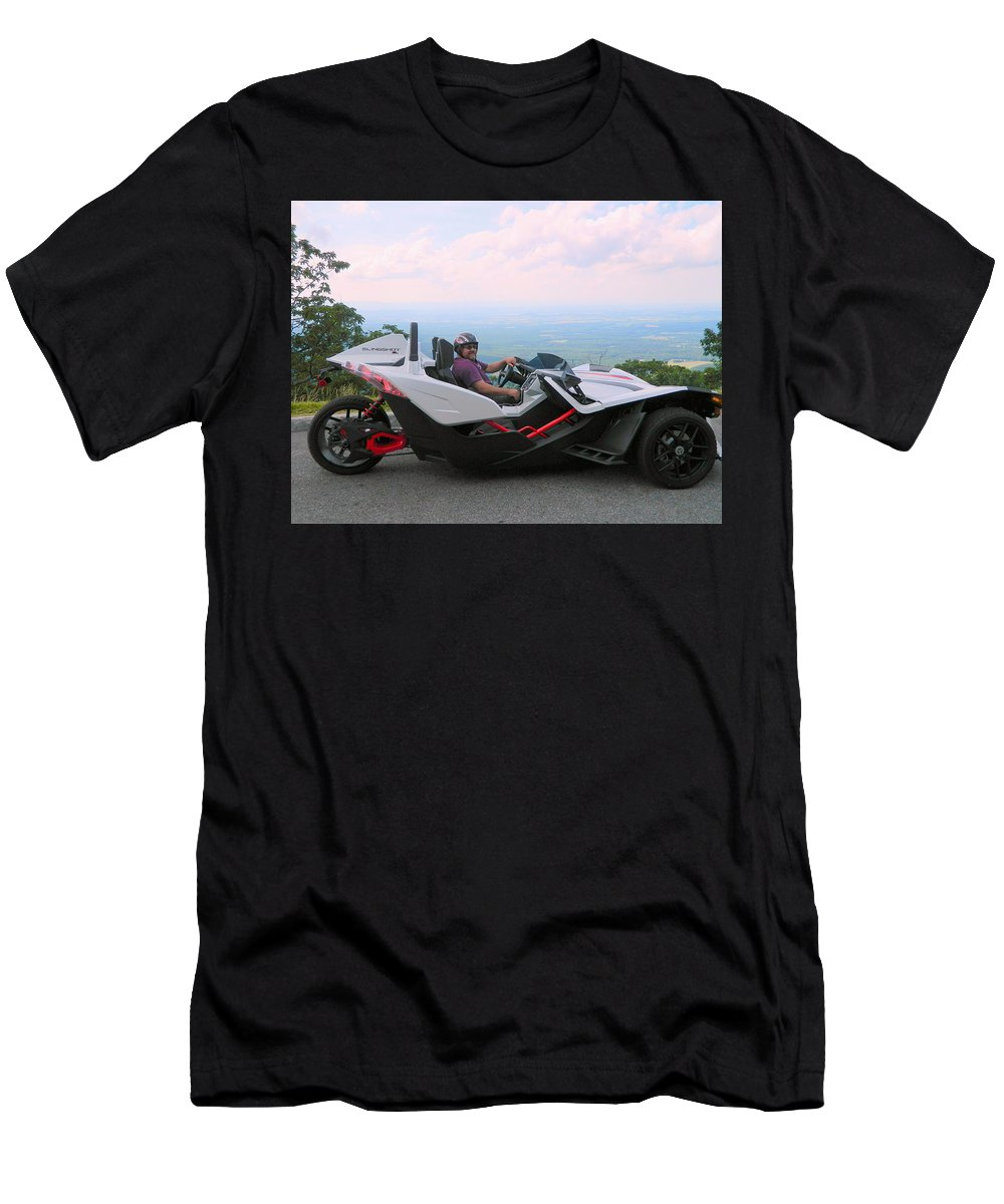 Stock Car Men's T-Shirt (Athletic Fit) featuring the photograph Vehicles Series by Arlane Crump