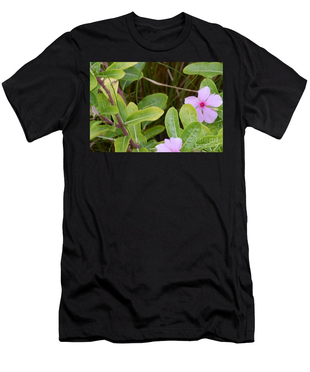 Flowers Men's T-Shirt (Athletic Fit) featuring the photograph wild Flowers by Julie Rose