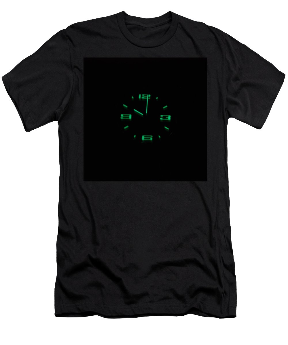 Neon Men's T-Shirt (Athletic Fit) featuring the photograph 10 01 by Rob Hans