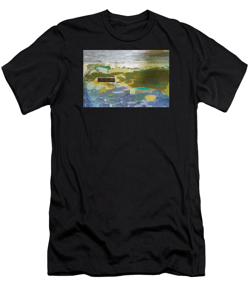 Abstract Men's T-Shirt (Athletic Fit) featuring the photograph 10 by Garth Pillsbury