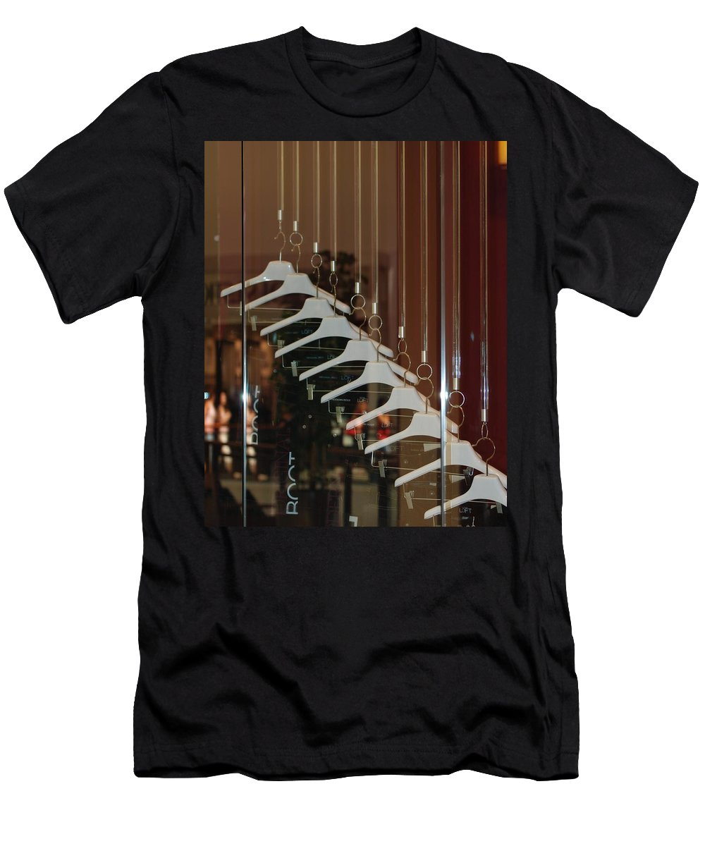 Hangers Men's T-Shirt (Athletic Fit) featuring the photograph 10 Hangers by Rob Hans