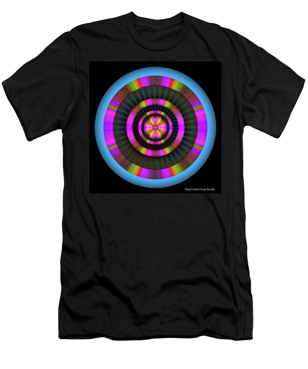 Art Men's T-Shirt (Athletic Fit) featuring the digital art 101520179 by Visual Artist Frank Bonilla