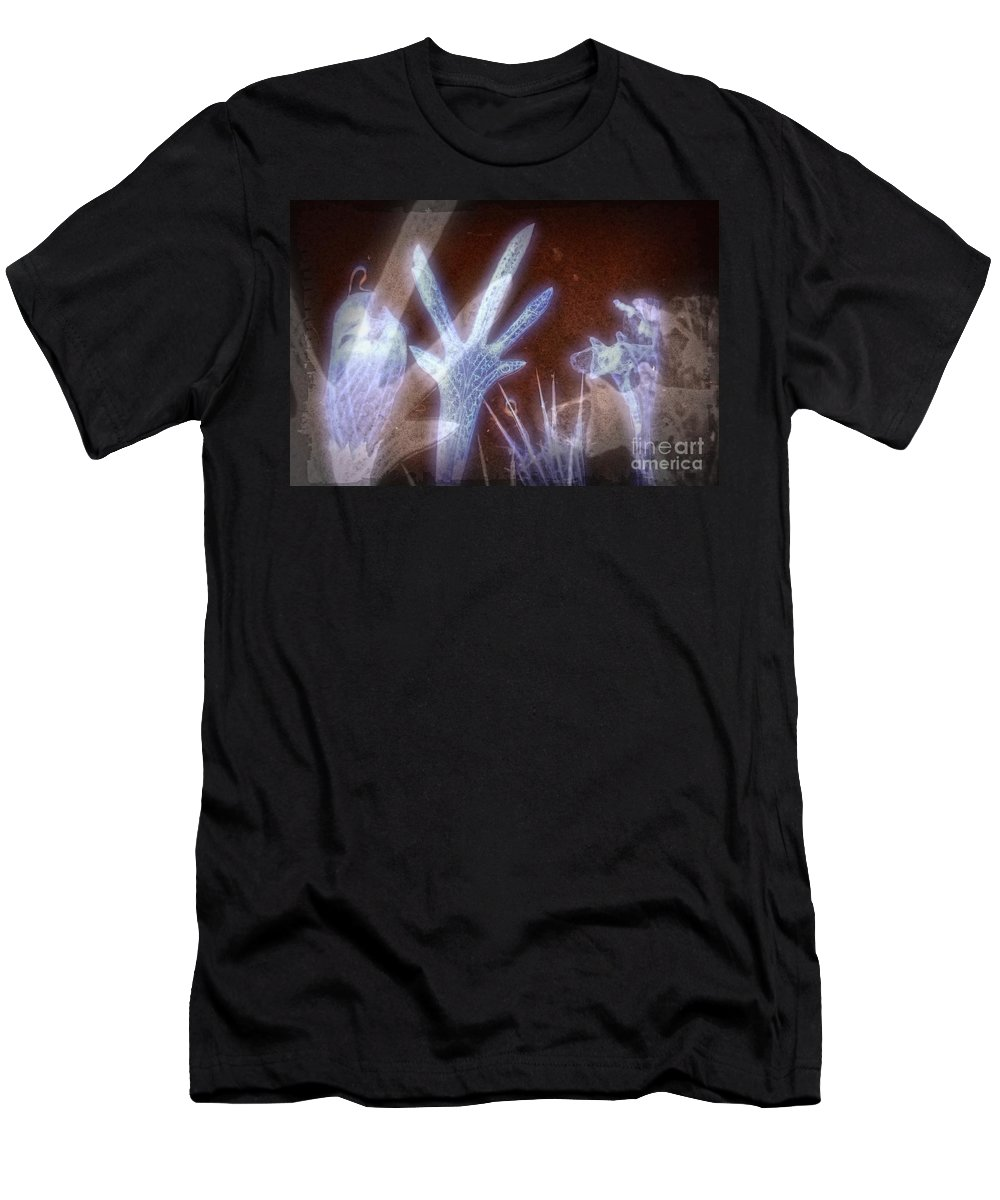 Ghost Men's T-Shirt (Athletic Fit) featuring the digital art 11288 Ghost Of Lost Souls Series 07-01 by Colin Hunt