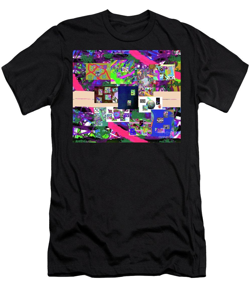 Walter Paul Bebirian Men's T-Shirt (Athletic Fit) featuring the digital art 12-26-2016e by Walter Paul Bebirian
