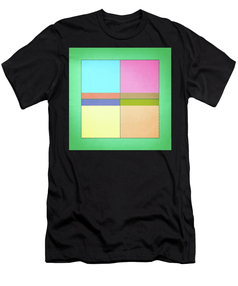 Abstract Men's T-Shirt (Athletic Fit) featuring the photograph 120 by Timothy Bulone