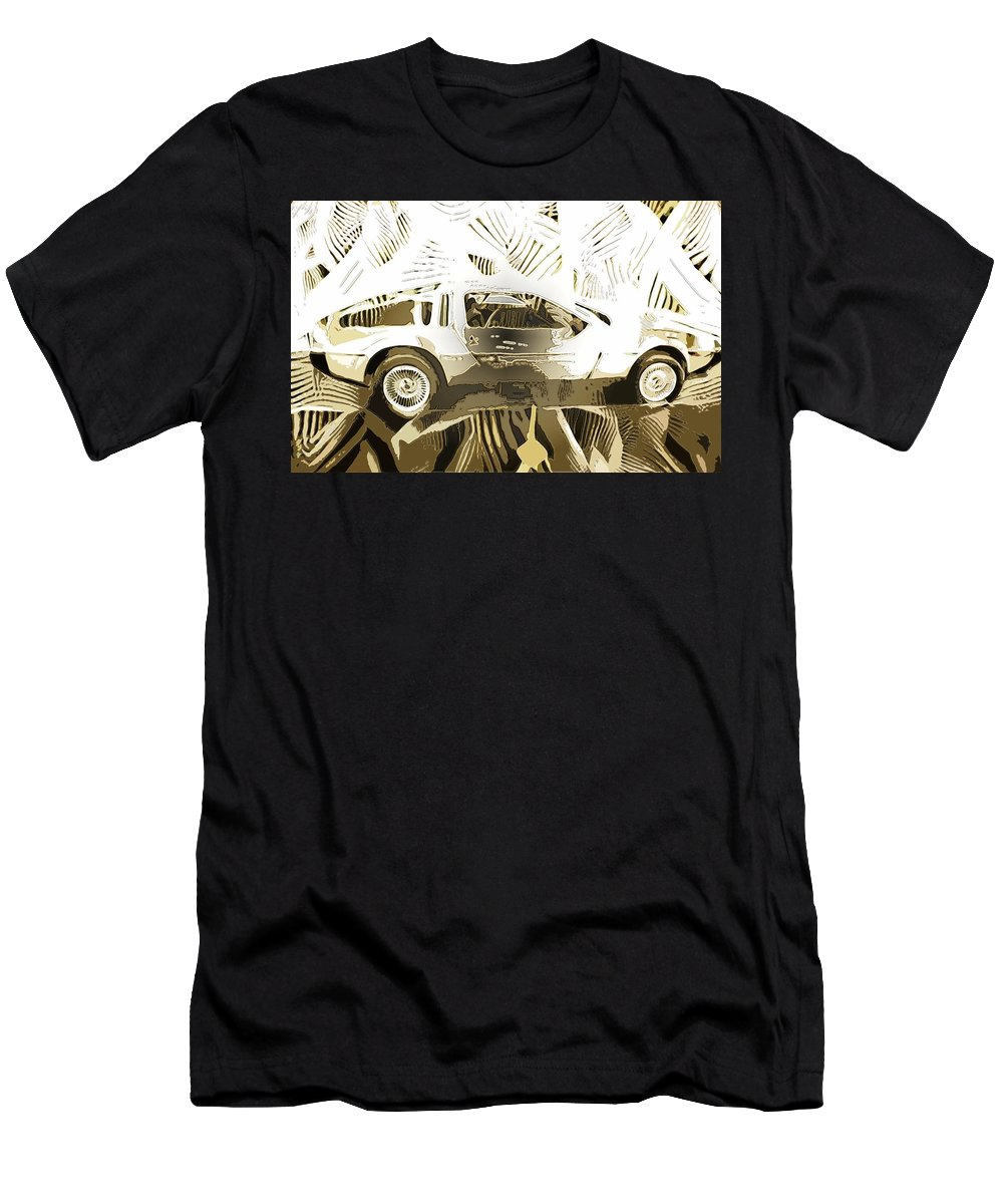 Men's T-Shirt (Athletic Fit) featuring the digital art Cards by John P Earls