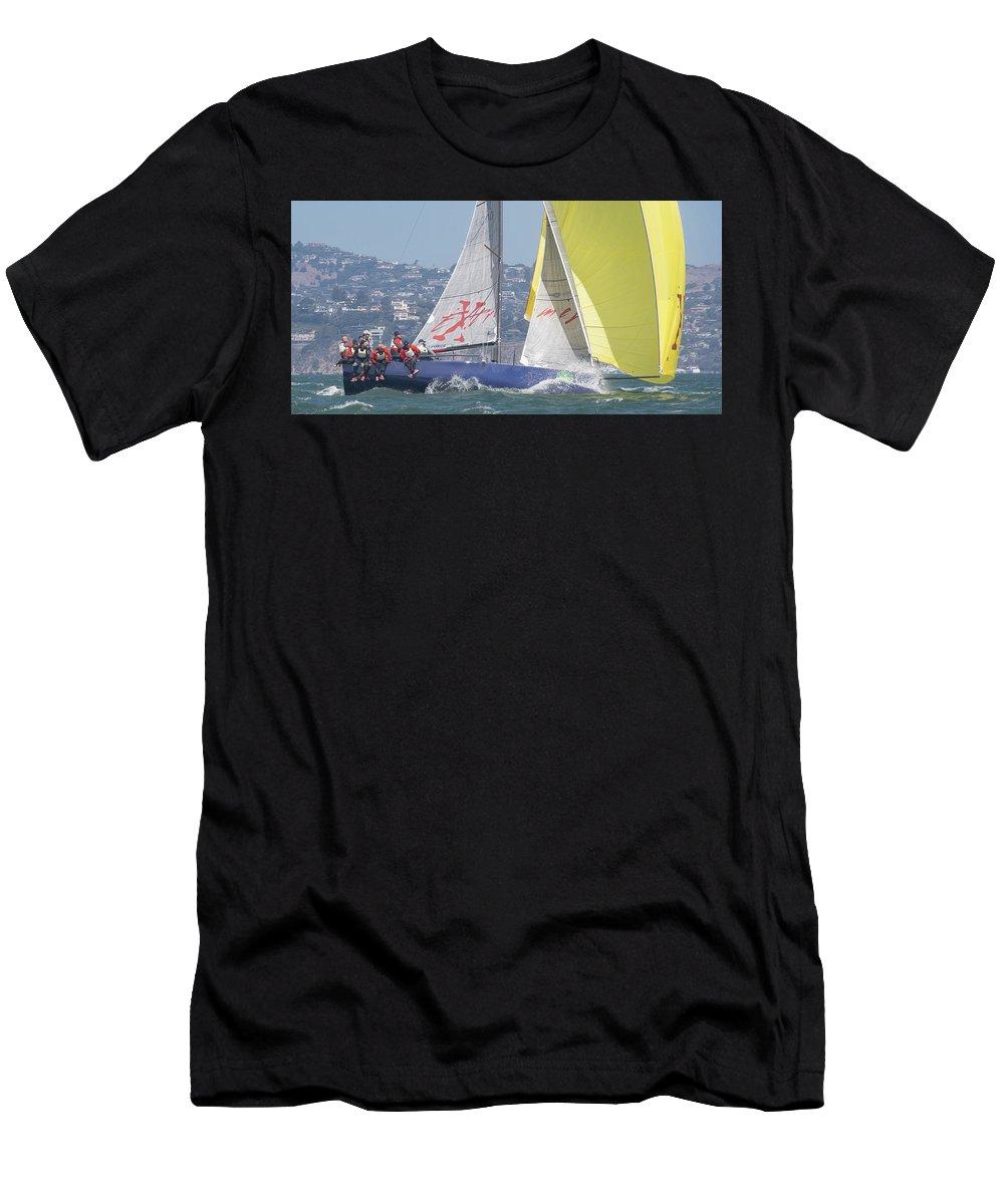 Rolex Men's T-Shirt (Athletic Fit) featuring the photograph Rolex Bbs by Steven Lapkin