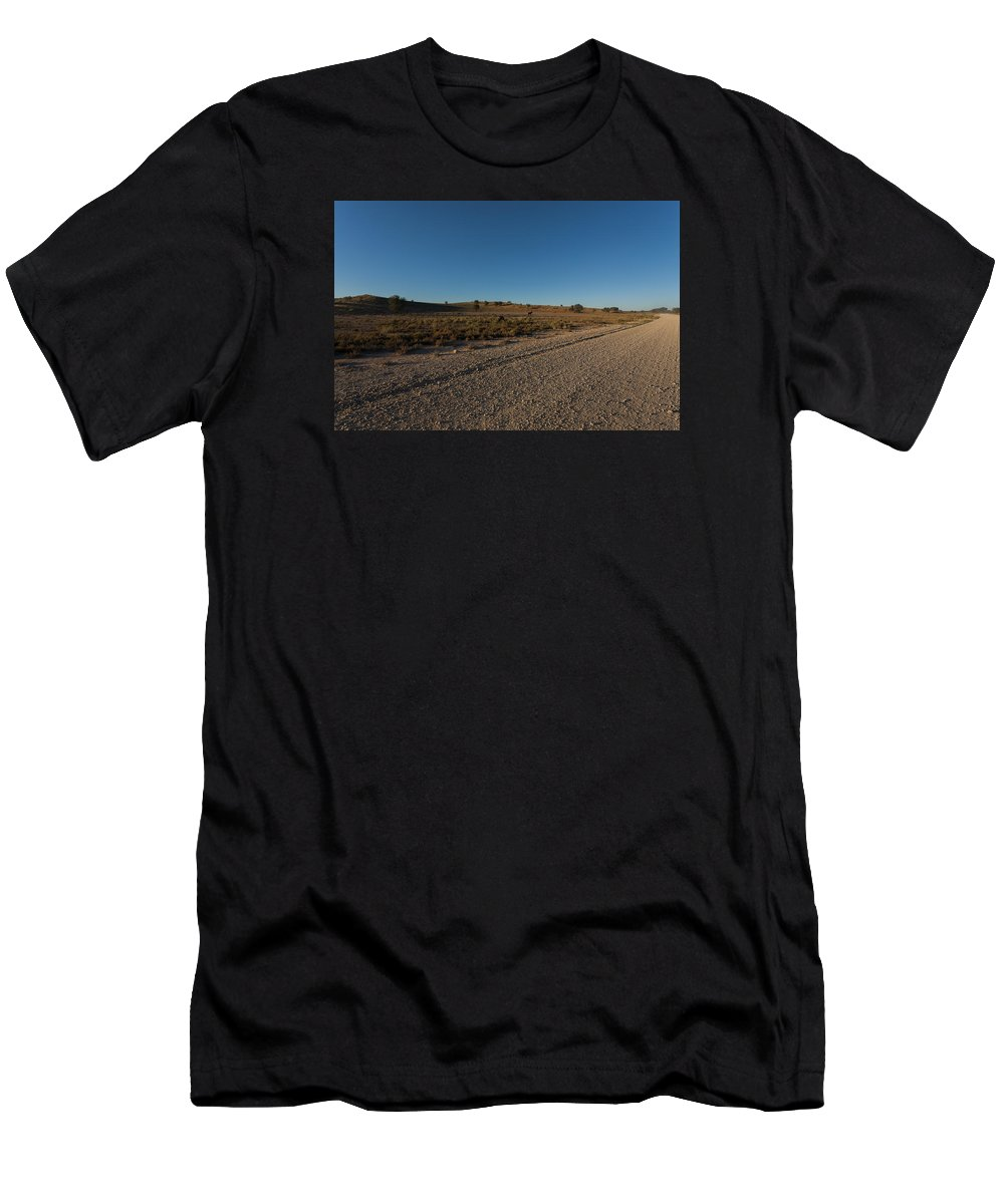 Kgalagadi Men's T-Shirt (Athletic Fit) featuring the photograph Kgalagadi by Davide Guidolin