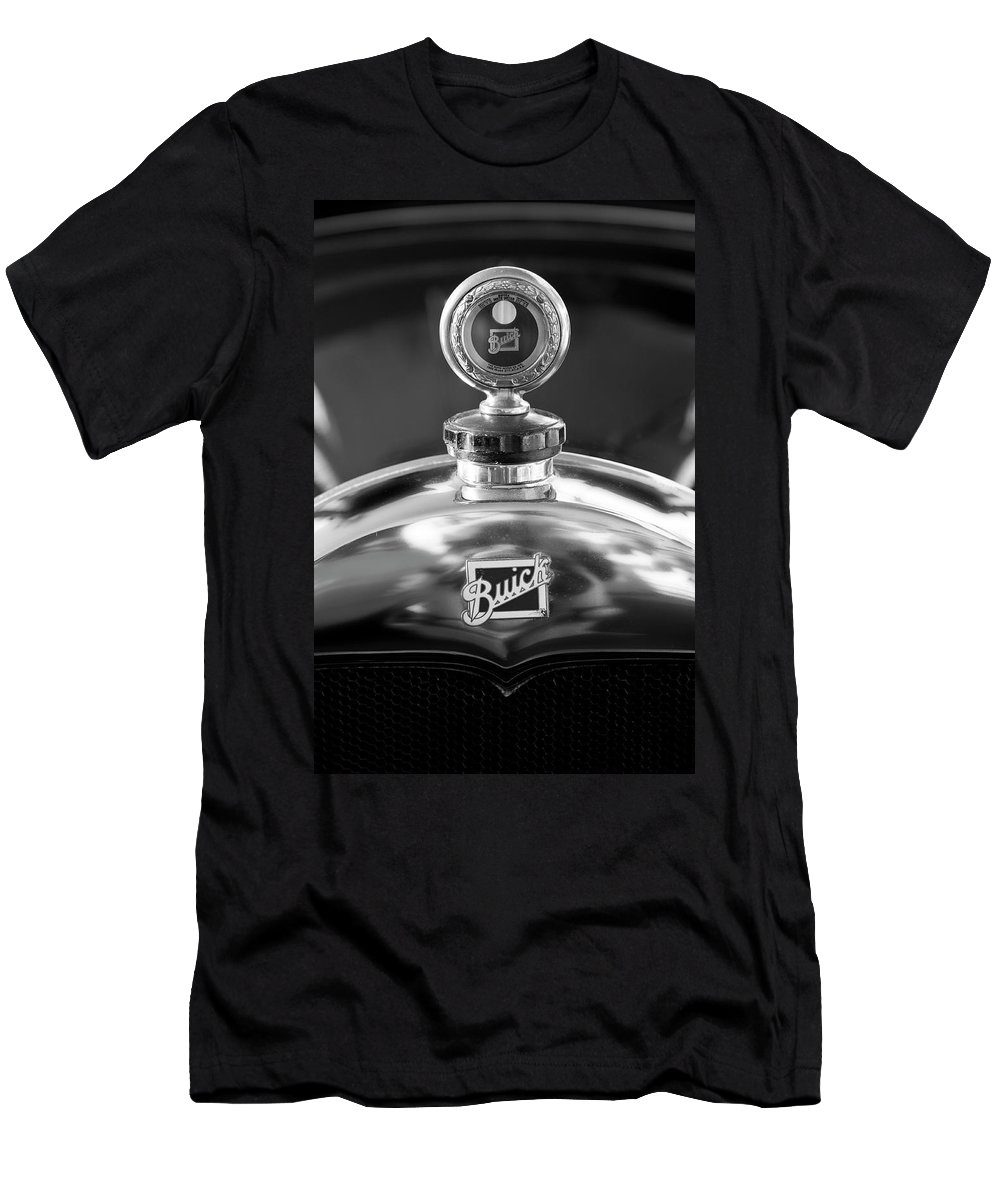 1928 Buick Men's T-Shirt (Athletic Fit) featuring the photograph 1928 Buick Hood Ornament 2 by Jill Reger