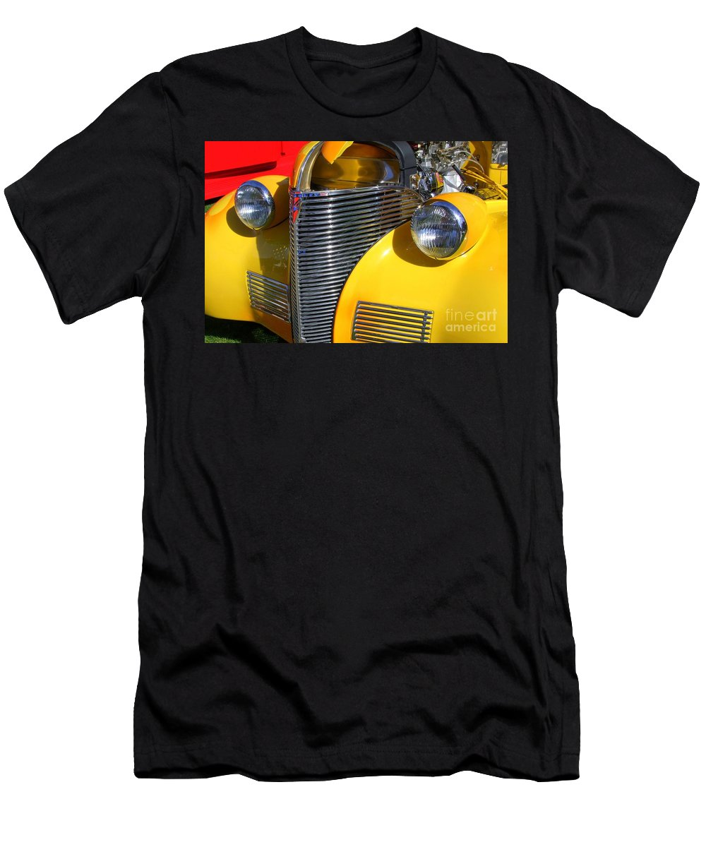 Classic Chevy Men's T-Shirt (Athletic Fit) featuring the photograph 1939 Chevy by Mary Deal