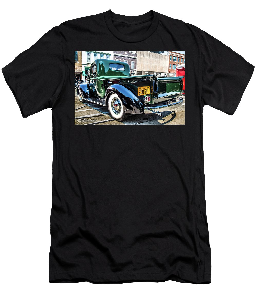 Chevy Men's T-Shirt (Athletic Fit) featuring the photograph 1941 Chevy Truck by Anthony Evans
