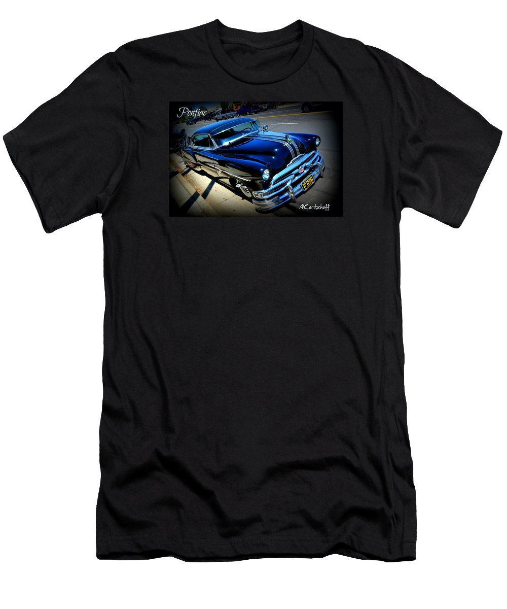 Men's T-Shirt (Athletic Fit) featuring the photograph 1951 Pontiac by Anatole Kortscheff