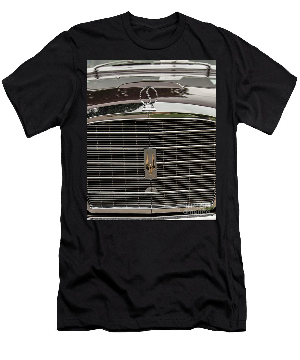 Studebaker Men's T-Shirt (Athletic Fit) featuring the photograph 1951 Studebaker Champion by David Bearden