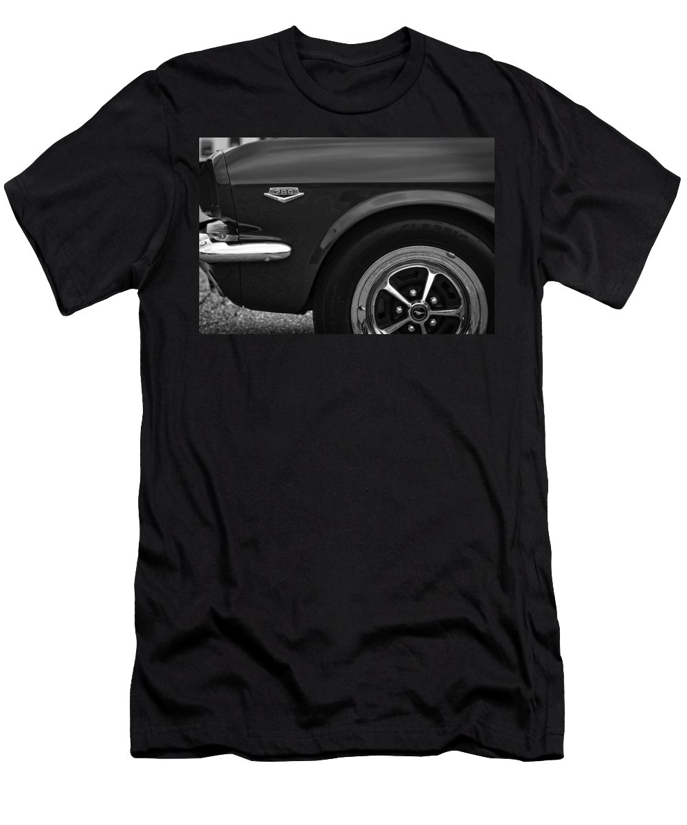 1964.5 Men's T-Shirt (Athletic Fit) featuring the photograph 1964.5 Ford Mustang - 289 High Performance by Gordon Dean II