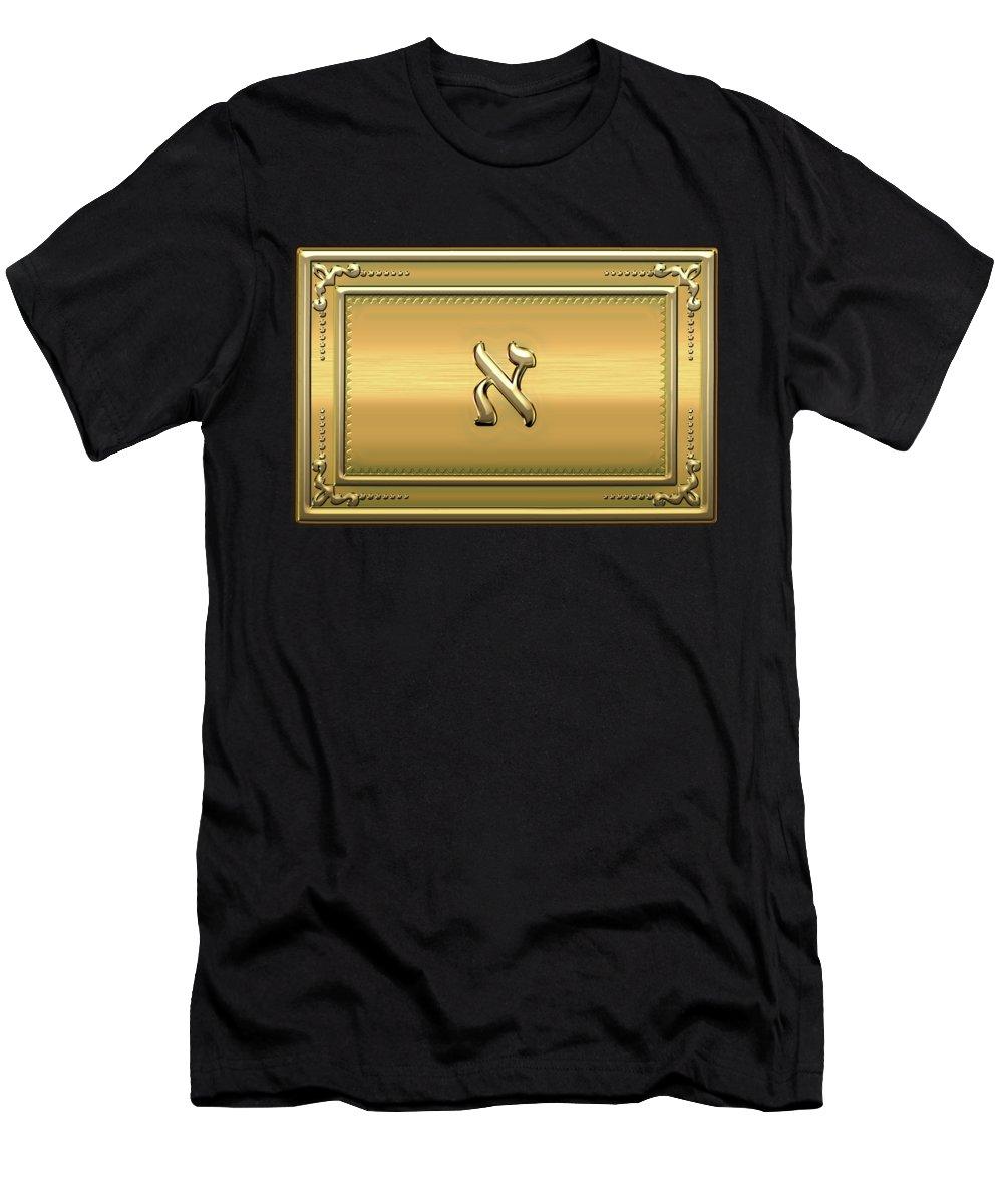 'ancient Brotherhoods' Collection By Serge Averbukh T-Shirt featuring the digital art 19th Degree Mason - Grand Pontiff Masonic Jewel by Serge Averbukh