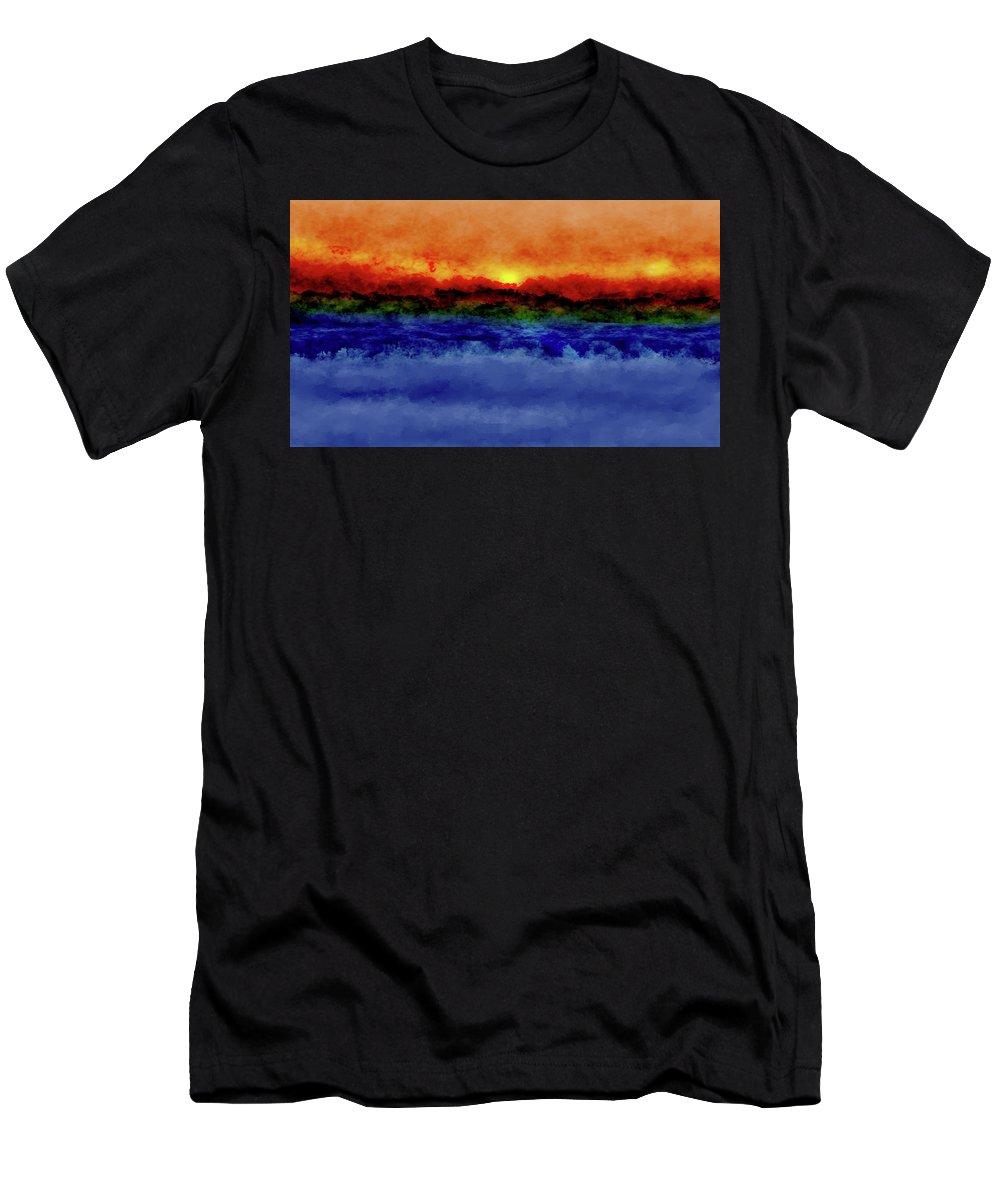 Men's T-Shirt (Athletic Fit) featuring the digital art Art by Vijay Prakash