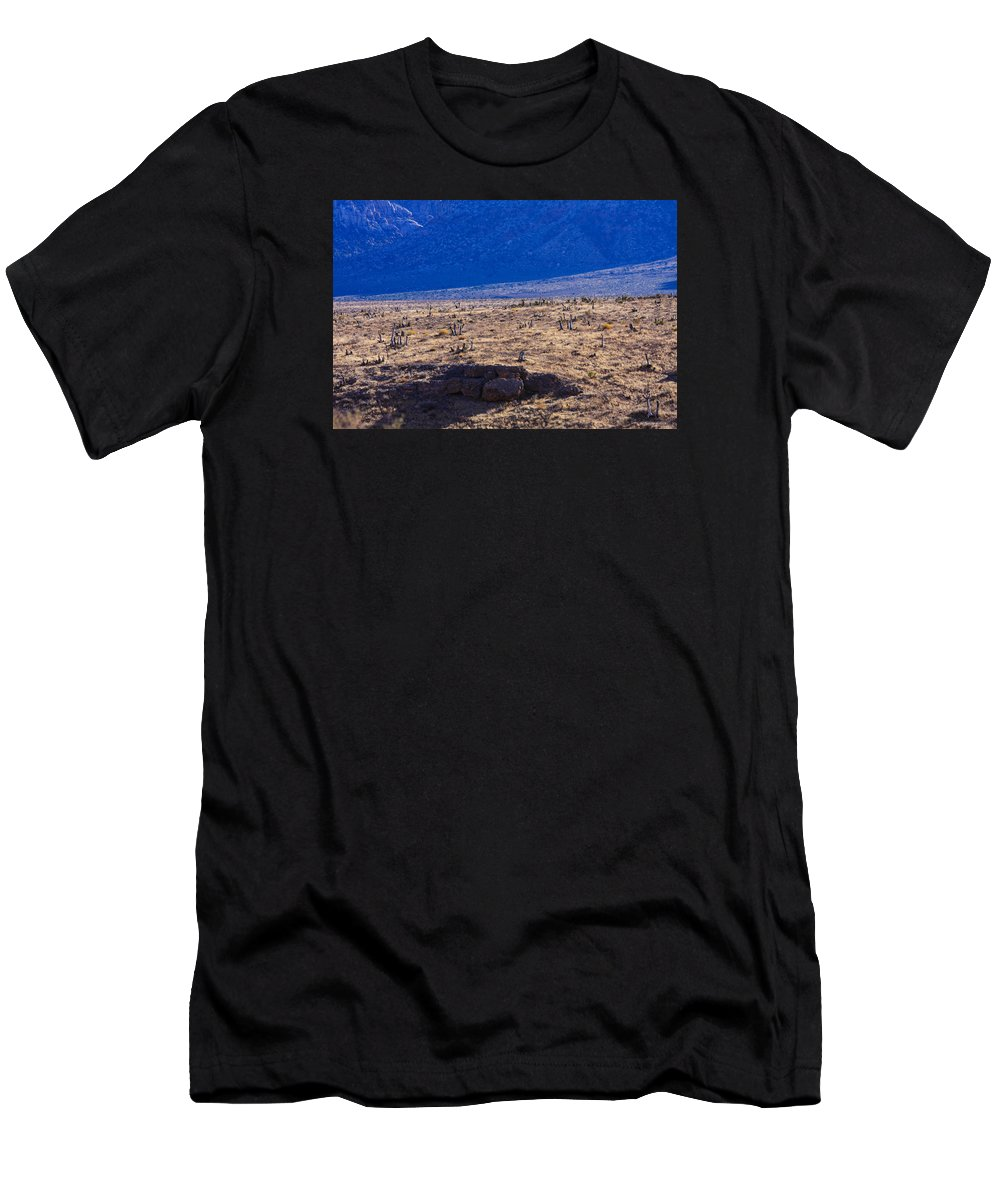 Cactus Men's T-Shirt (Athletic Fit) featuring the photograph Cactus by William Rogers