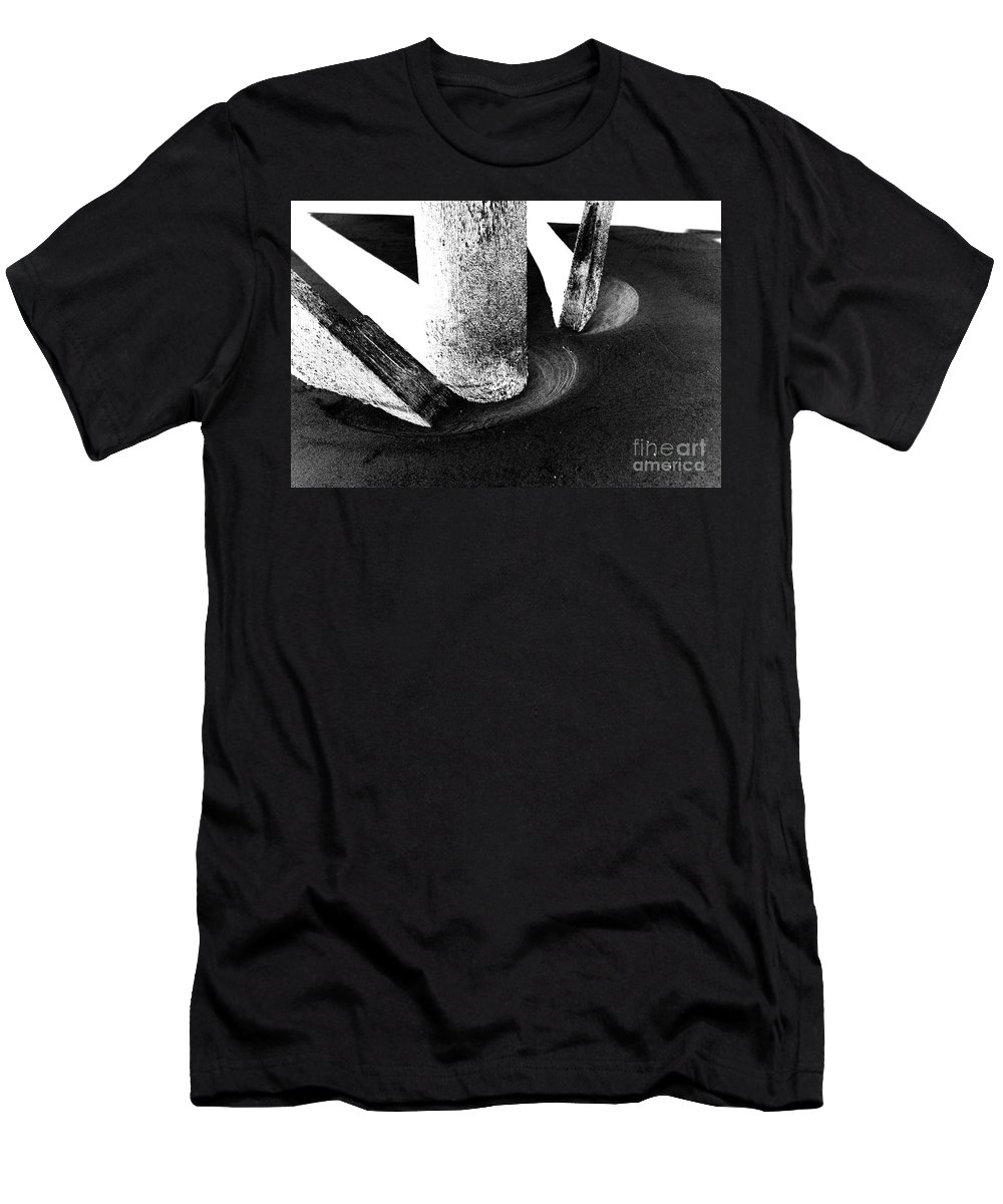 Men's T-Shirt (Athletic Fit) featuring the photograph Erosion by Jamie Lynn